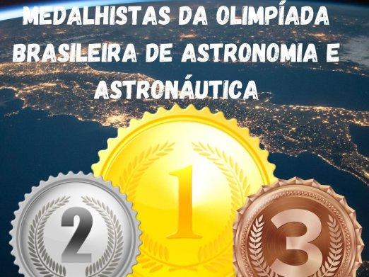 Medalhistas na Olimpíada de Astronáutica e Astronomia